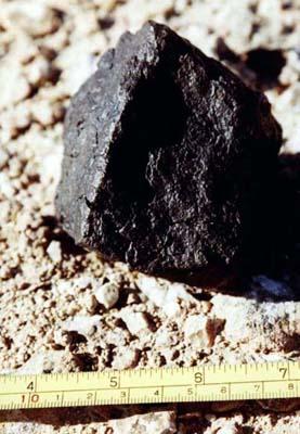 Метеорит Jiddat al Harasis 022