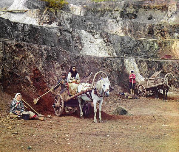 Бакальский рудник в 1910 г.