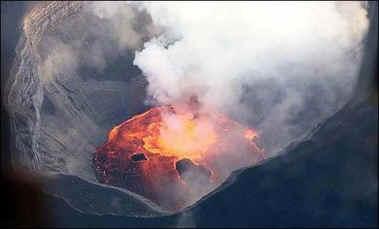 Извергается вулкан Картала