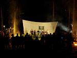 Фото Сергея Филимонова с вечернего концерта на осеннем слёте геологической школы