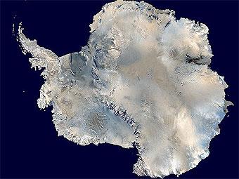 Влияние озоновой дыры на оледенение Антарктиды.