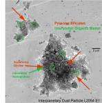 Найдены частицы вещества, предположительно возникшие до Солнечной системы