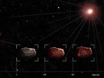 Астероиды оказались уязвимее для солнечного ветра