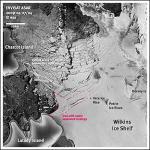 Антарктический ледник Уилкинса на грани гибели
