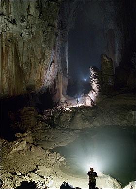 Обнаружен самый большой в мире подземный зал