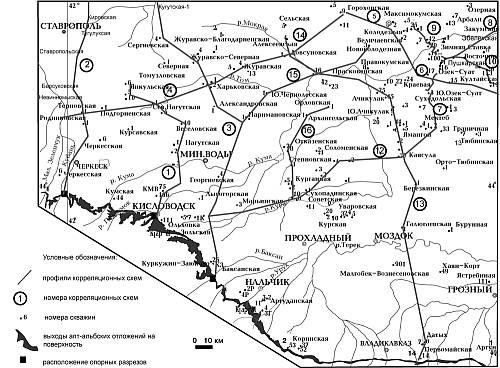 Карта фактического материала.