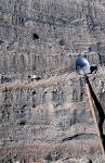 Косая однонаправленная слоистость песка (Аллювий р. Нижняя Тунгуска)