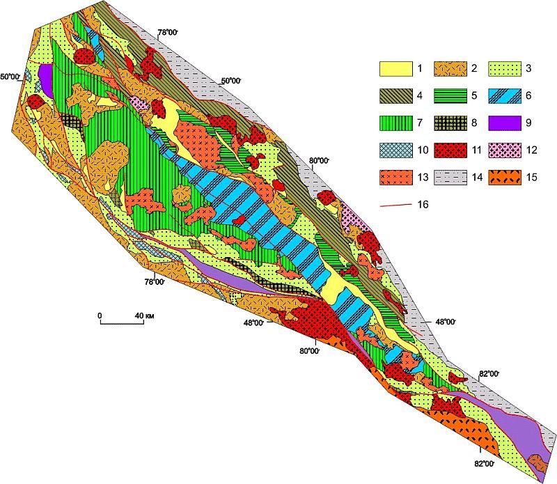 Схема тектонического