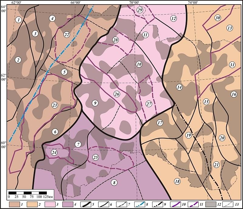 6-границы тектонических